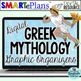 SMARTePlans Digital Greek Mythology Graphic Organizers
