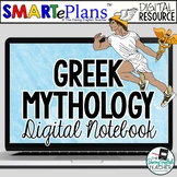 Digital Greek Mythology Interactive Notebook for Distance