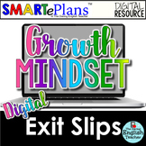 SMARTePlans Digital Growth Mindset Exit Slips for Google Drive