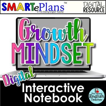 SMARTePlans Digital Growth Mindset Interactive Notebook fo