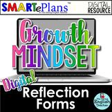 SMARTePlans Digital Growth Mindset Reflection Forms for Se
