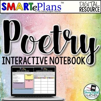 SMARTePlans Digital Poetry Interactive Notebook