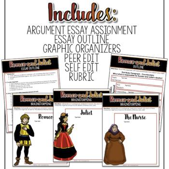 SMARTePlans Digital Romeo and Juliet Argument Essay