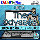 Digital The Odyssey Character Analysis Interactive Noteboo
