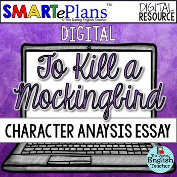 SMARTePlans Digital To Kill a Mockingbird Character Analys
