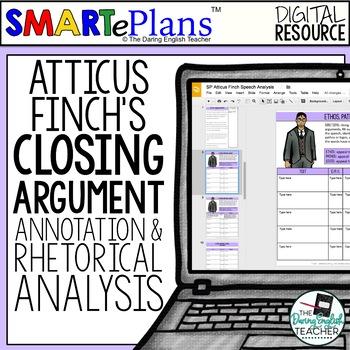 SMARTePlans Digital To Kill a Mockingbird Rhetorical Analysis