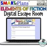 Digital Elements of Fiction Escape Room Activity - Distanc