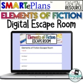 Digital Elements of Fiction Escape Room Activity - Distanc