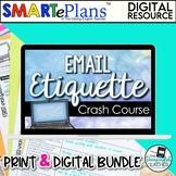 Email Etiquette - Digital & Traditional Bundle - Distance