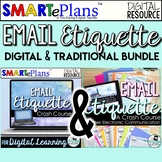 Email Etiquette - Digital & Traditional Bundle - Distance