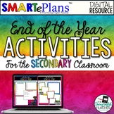 SMARTePlans End of Year Activities for Google Drive
