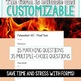 SMARTePlans Fahrenheit 451 Final Test - Self-Grading Google Forms Resource