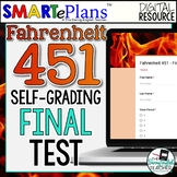 SMARTePlans Fahrenheit 451 Final Test - Self-Grading Google Forms Resource