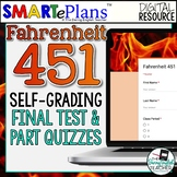 SMARTePlans Fahrenheit Self-Grading Assessment Pack (Quizz