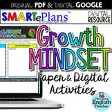 SMARTePlans Growth Mindset Activities & Resources (Google & Traditional Bundle)