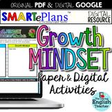 Growth Mindset Activities & Resources (Digital & Print) -
