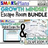 Growth Mindset Escape Room Digital & Print Bundle - Distance Learning
