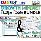 Growth Mindset Escape Room Digital & Print Bundle - Distan