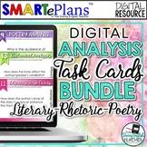 SMARTePlans Literature, Rhetoric, and Poetry Digital Task Cards