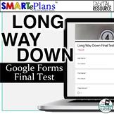 Long Way Down Final Test - Digital Self-Grading Google For