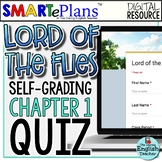 SMARTePlans Lord of the Flies Chapter 1 Quiz: Self-Grading