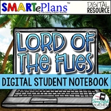 Lord of the Flies Digital Interactive Notebook - Distance
