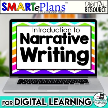 SMARTePlans Narrative Writing Unit for Google Drive