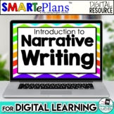SMARTePlans Narrative Writing Unit for Google Drive