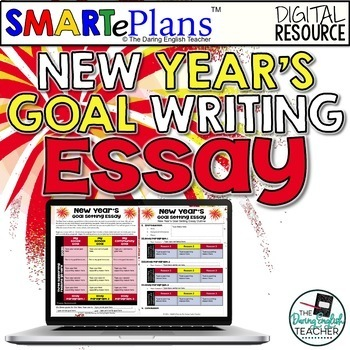 SMARTePlans New Year's Goal Essay for Google Drive