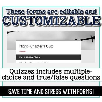 SMARTePlans Night Chapter 1 Quiz: Self-Grading Google Form