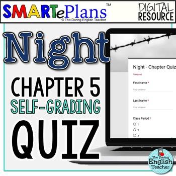 SMARTePlans Night Chapter 5 Quiz: Self-Grading Google Form