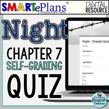 SMARTePlans Night Chapter 7 Quiz: Self-Grading Google Form