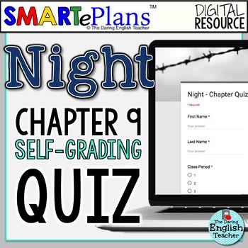SMARTePlans Night Chapter 9 Quiz: Self-Grading Google Form