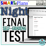 Night Final Test - Digital Self-Grading Form - Distance Learning