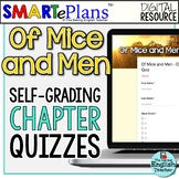 Of Mice and Men Chapter Quizzes: Digital Self-Grading Form