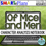 SMARTePlans Digital Of Mice and Men Character Analysis Int