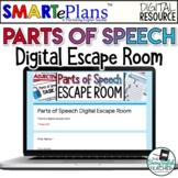 Digital Parts of Speech Digital Escape Room - Distance Learning