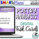 Digital Poetry Analysis Task Cards for Any Poem