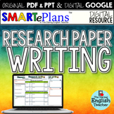 SMARTePlans Research Paper Writing Unit (Digital Google & Traditional Bundle)