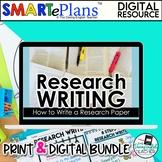 Research Paper Writing Unit (Digital Google & Traditional Bundle)