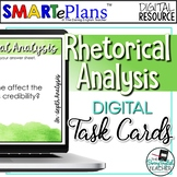 Digital Rhetorical Analysis Task Cards for Any Text - Dist