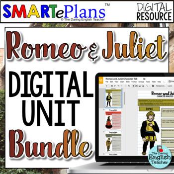 SMARTePlans Romeo and Juliet Digital Teaching Bundle