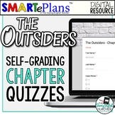 SMARTePlans Self-Grading The Outsiders Chapter Quizzes for
