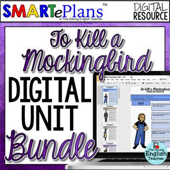 SMARTePlans To Kill a Mockingbird Digital Teaching Bundle