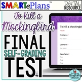 To Kill a Mockingbird Final Test: Digital Self-Grading For