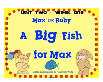"Reading Street ""Max and Ruby"" SMARTboard First Grade Unit 2 Week 1"
