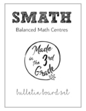 Math Workshop Bulletin Board Set (SMATH)