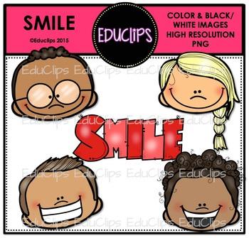 SMILE Clip Art Bundle