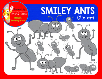 SMILEY ANTS CLIPARTS