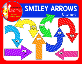 SMILEY ARROWS CLIPART